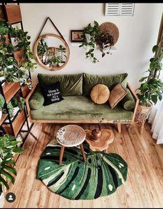 Bohemian Interior, Bohemian Decor, Interior Decorating, Interior Design, Outdoor Furniture Sets, Outdoor Decor, Plant Decor, Cozy House, Home Decor Inspiration