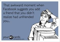 Free and Funny Workplace Ecard: I'm not even going to bother learning the new hires' names until they've been here at least 3 months. Create and send your own custom Workplace ecard. Unfriend Quotes, Block Me On Facebook, Facebook Friend Request, Facebook Humor, I Love To Laugh, Awkward Moments, E Cards, Someecards