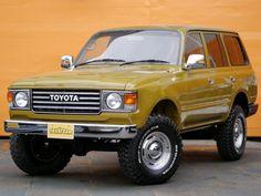 ランクル80丸目2灯60フェイス換装-オリーブブラウン Toyota Landcruiser80 FZJ80G olive brown