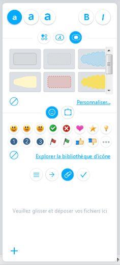 nouvelle barre de menu pour MindMeister 9 : les concepteurs du logiciel de mindmapping ont résolument opté pour le flat design, un style graphique clair et dépouillé, mais très élégant ;-)