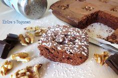 Receta Brownie con Chocolate Puro y Nueces