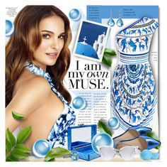 """""""I Am My Own Muse"""" by petri5 ❤ liked on Polyvore featuring Clover Canyon, Edie Parker, David Yurman, Fendi and Eos"""