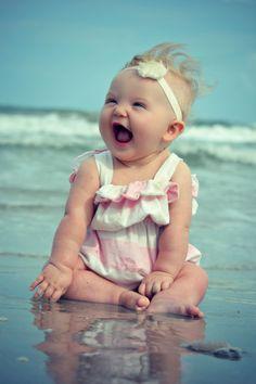 Baby beach picture                                                                                                                                                                                 Más