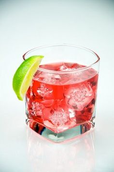 Cranberry Mixed Drinks @rheannon let's try em!