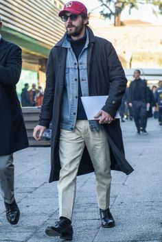 Estilo Hipster, Bon Look, Outfits Hombre, Casual Wear For Men, Mens Fashion, Fashion Outfits, Fashion Images, Preppy Style, Winter Fashion