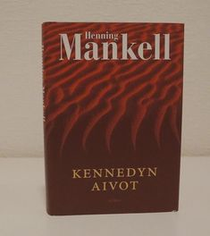 Kirja: Kennedyn aivot, Henning Mankell Second Hand Shop, Cover, Books, Libros, Book, Blankets, Book Illustrations, Libri