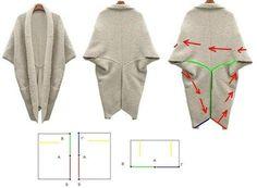 Lagenlook Sewing Patterns   Lagenlook patterns and line drawings 2