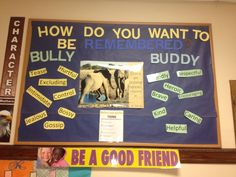 Anti bullying bulletin board | Bully lessons | Pinterest ...