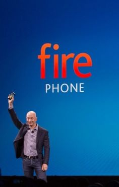 The Amazon Fire Phone.