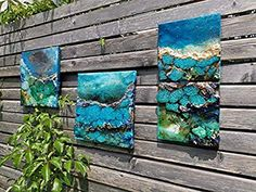 Unterwasser Attersee (Serie Blue - Times): Amazon.de: Handmade Great Rooms, Turquoise Necklace, Jewelry, Design, Canvas Frame, The Great Outdoors, Heart Pictures, Blue Green, Painting Art