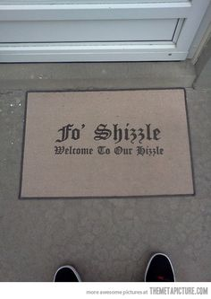 Can someone buy me this doormat? Thanks