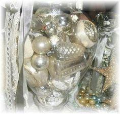Wayside Treasures: Antique Mercury Glass Ornaments