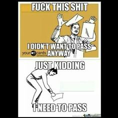 This point in the semester.