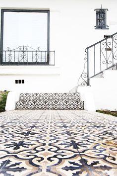 COCOCOZY Design House: Cement Tile Patio | COCOCOZY