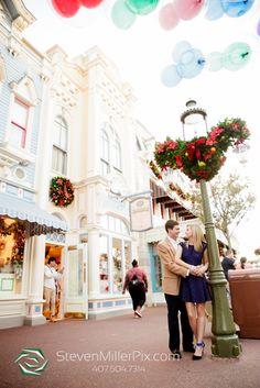 Magic Kingdom Surprise Proposal Photos Orlando Steven Miller Photography Disney World Engagement