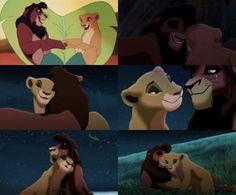 Kovu and Kiara Lion King 2 Kovu, The Lion King 1994, Lion King Fan Art, Disney Lion King, Disney S, Disney Love, Kiara And Kovu, Lion King Pictures, Stitch Drawing
