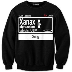 Get the label of everyone s favorite anti depressant onto a black and white crewneck  These 2mg school buses will have you remembering one thing  Nothing  Our full print crewneck sweatshirts are uniquely crafted using a special sublimation technique t