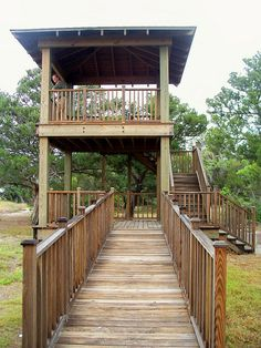 wildlife viewing tower, at St. Andrews Picnic Area, Jekyll Island, 22 April 2012