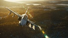 Witness The Smoothest Jet Fighter Footage Ever At 345 MPH. A brand-new camera stabilizing rig was created solely to capture the majesty of the Saab Gripen fighter jet cutting open the ice cold air above Sweden.