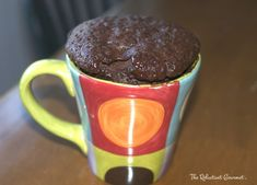 Cake in a Cup Recipe : The Reluctant Gourmet. Chocolate cake in a mug recipe - learn how to make your own at home.Chocolate Cake with Choc Mousse in a Cup & Key Mug Recipes, Dessert Recipes, Desserts, Side Recipes, Recipies, Cupcake In A Cup, Cupcake Cakes, Cupcakes, Microwave Chocolate Cakes