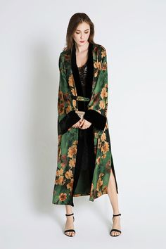 Kimono wrap for outerwear with jeans and a t-shirt or a dress