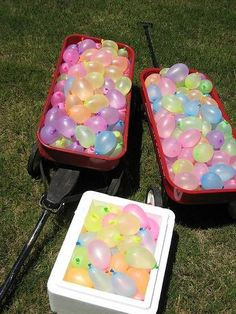 Outdoor Water Birthday Party Ideas or maybe for the boys' party.