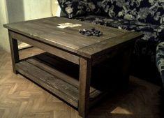 Solid wood coffee tablepallet tablecoffee от Paradiseoffurniture