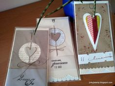 wedding heart cards