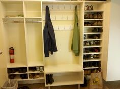 Garage Mudroom Home Design Ideas, Pictures, Remodel and Decor