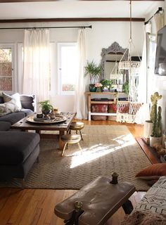 A Beverly Hills Hairstylist's Bohemian Home | Design*Sponge