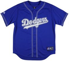 Dodgers Youth Preschool Small Jersey MLB Royal Blue LA Authentic 4 BABA E5 in | eBay