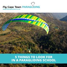 There are many a paragliding school out there. More than a handful in the greater Cape Town region alone, you need to make sure you use the right one! Cheap Hobbies, Word Of Mouth, Paragliding, Extreme Sports, School Fun, Cape Town, Competition, That Look, Things To Come