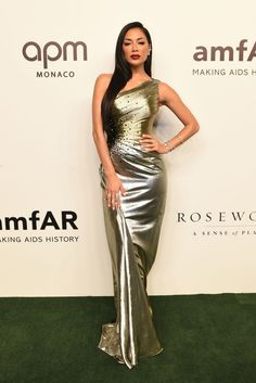 HONG KONG - MARCH 25: Nicole Scherzinger attends the amfAR Gala Hong Kong 2019 at the Rosewood Hong Kong on March 25, 2019 in Hong Kong, Hong Kong. (Photo by Edwin Koo/Getty Images)
