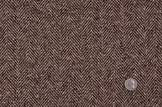 Dark Brown/Blond Beige Herringbone Coating