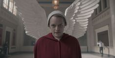 It Looks Like Elisabeth Moss and Yvonne Strahovski Are Both Returning for Season 4 of 'The Handmaid's Tale' — Cosmopolitan Handmaid's Tale Tv, Handmade Tale, Elizabeth Reaser, Joseph Fiennes, What Does It Say, Elisabeth Moss, Yvonne Strahovski, Burning Questions, Strong Family
