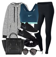 """""""Untitled #12157"""" by vany-alvarado ❤ liked on Polyvore featuring NIKE, Karl Lagerfeld, Christian Dior and Pieces"""