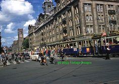 Vintage Kodachrome Slide 1950s Netherlands -  Central Amsterdam