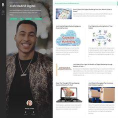 Josh Madrid Content Marketing, Digital Marketing, Advertising, King, Inbound Marketing