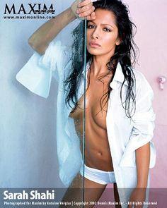 Sarah Shahi Maxim Bikini Outtakes Maxim