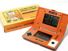 Nintendo Game & Watch Multi Screen Donkey Kong DK-52 Boxed MIJ Free Shipping! _8 #Nintendo