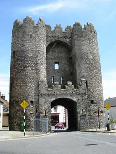 Medieval City Gate, Drogheda, County Louth, Ireland.