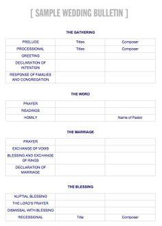 nautical theme wedding ceremony programs with specialty