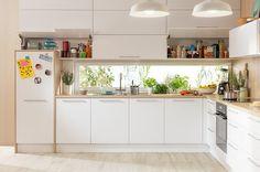 Zdjęcie numer 2 w galerii - Jak rozplanować kuchnię? Nawet najmniejsza kuchnia może być wygodna!