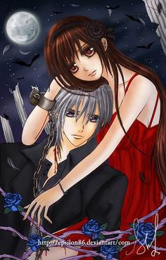 Yuki and Zero - Vampire Knight