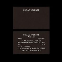 Lucas Valente is an independent writer and editor focusing on poetry and the arts. Brand Identity Design, Graphic Design Branding, Stationery Design, Graphic Design Illustration, Typography Layout, Lettering, Print Design, Web Design, Name Card Design