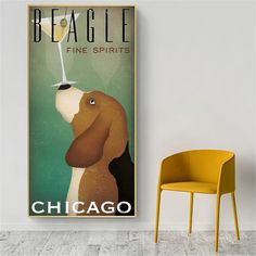 Coffee Wall Art Retro Dog Vintage Poster Prints Wall Canvas Pictures for Living Room Modern Minimalist Painting Home Decor Canvas Wall Art, Wall Art Prints, Poster Prints, Canvas Prints, Cheap Paintings, Dog Paintings, Vintage Wall Art, Vintage Posters, Minimalist Home Decor