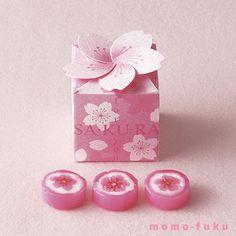 春満開!桜モチーフのキャンディ