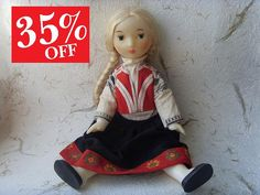 """""""This what is really need"""", said the doll... by Tamara on Etsy"""