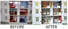 HeyDay Living: Extreme Home Makeover- Dollhouse Edition