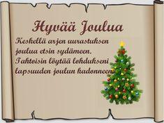 Tulostettava joulukortti-pohja ruskea Christmas Quotes, Christmas Greetings, Christmas Time, Christmas Cards, Christmas Decorations, Xmas, Christmas Ornaments, Holiday Decor, Happy Day